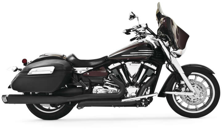 Freedom exhaust 4 racing duals black w black tips 4 for 2006 yamaha stratoliner review