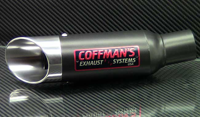 Coffmans shorty exhaust 2006 2017 yamaha r6 for Best exhaust system for yamaha r6