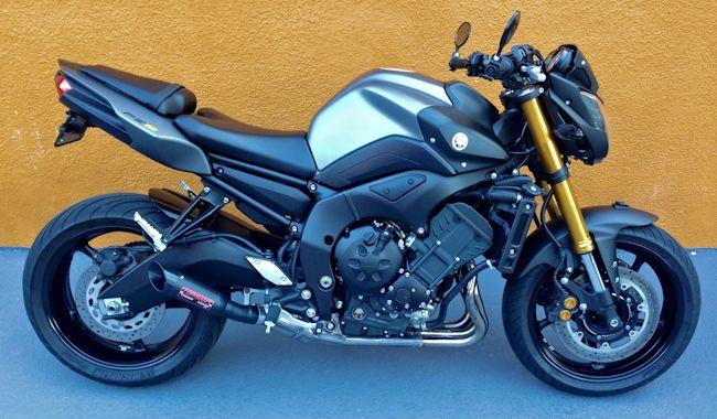 Coffmans Shorty Exhaust 2011 2013 Yamaha Fz8