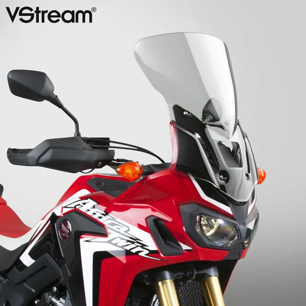 v stream mid height windshield 2016 2017 honda crf1000l. Black Bedroom Furniture Sets. Home Design Ideas