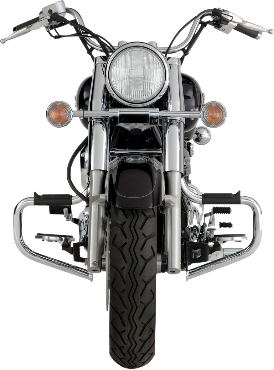 Lindby Multibar Crash Bars 1991-2018 Harley Davidson Dyna Models (With Mid  Controls) - Chrome
