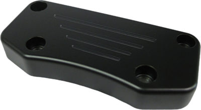 Wild 1 Ball Milled Top Clamp Black