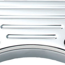 Wild 1 Ball Milled Top Clamp Chrome
